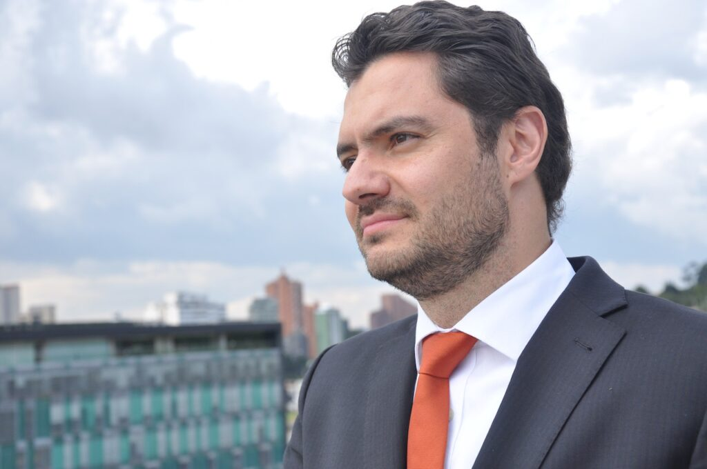 Eduardo behrentz, vicerrector Uniandes
