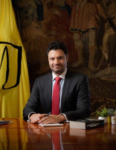 Eduardo Behrentz Vicerrector Covid 19 en Colombia